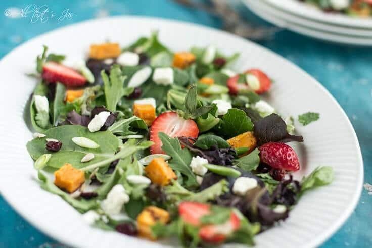 Sweet Potato Spring Salad