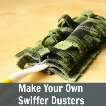 Make Your Own Swiffer Dusters - Our Secondhand House featured on Ideas for the Home by Kenarry®