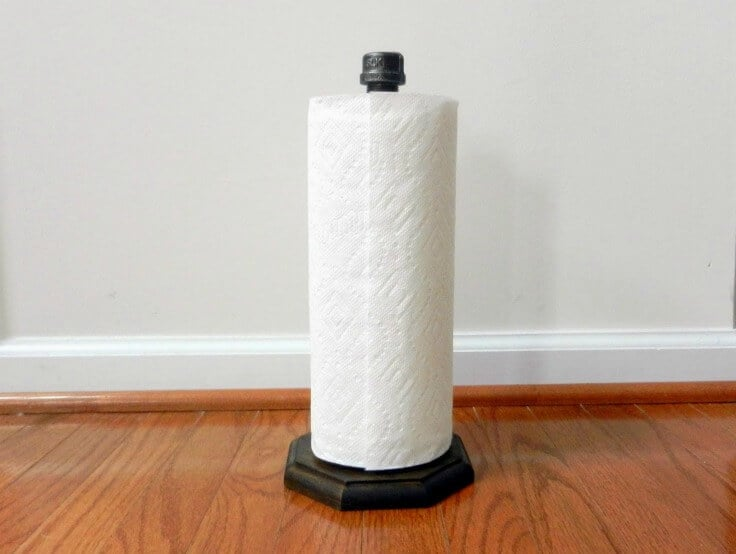 Industrial Paper Towel Holder - Moving to the Country featured on Ideas for the Home by Kenarry®