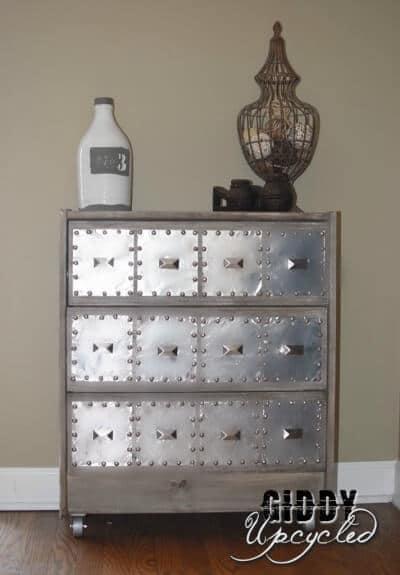 diy industrial furniture diy kitchen island industrial furniture 16 diy metal home decor ideas