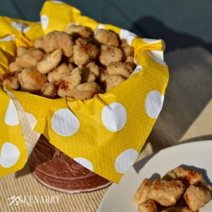 Yum! My kids are going to love this Popcorn Chicken Nuggets recipe for dinner. It's a delicious idea for a quick weeknight meal.