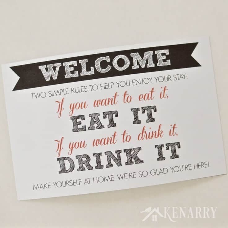 Free Printable Welcome Sign