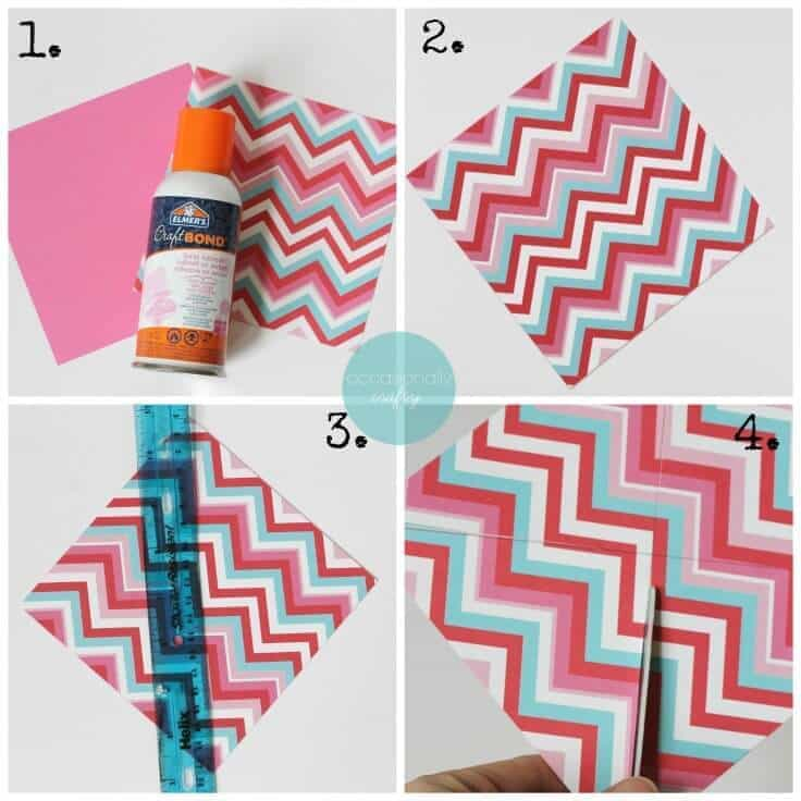 Great craft tutorial for how to make a pinwheel banner - a fun idea for summer parties and home decor!