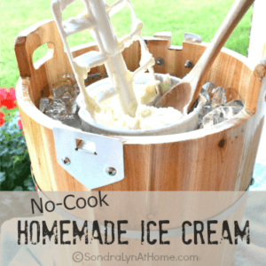 No-Cook Homemade Ice Cream--- Sondra Lyn at Home