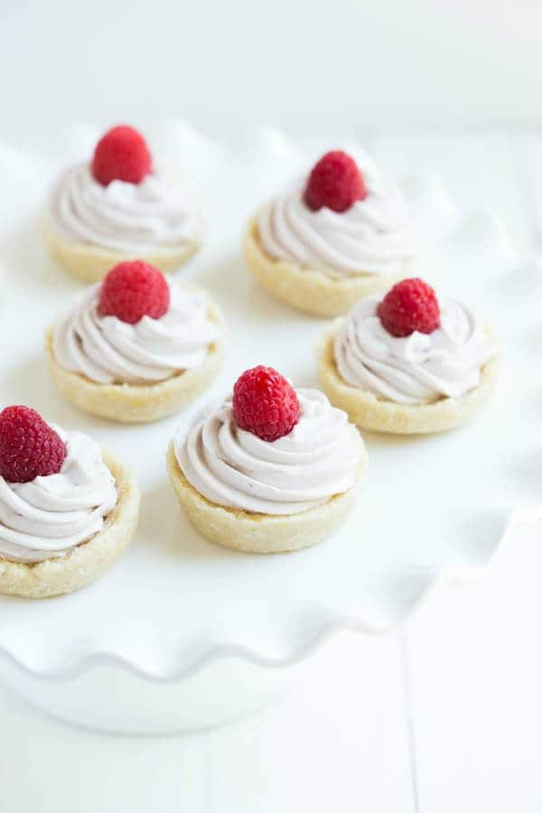 No Bake Raspberry Cookie Cups {Gluten Free} - A Spoonful of Flavor featured on Kenarry.com