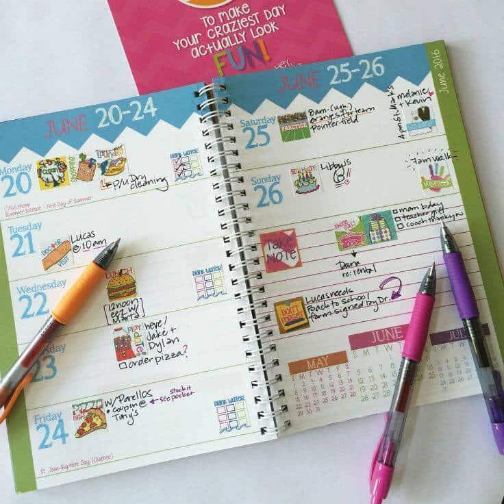 2015-16 Reminder Binder Calendar + More For 30% Off