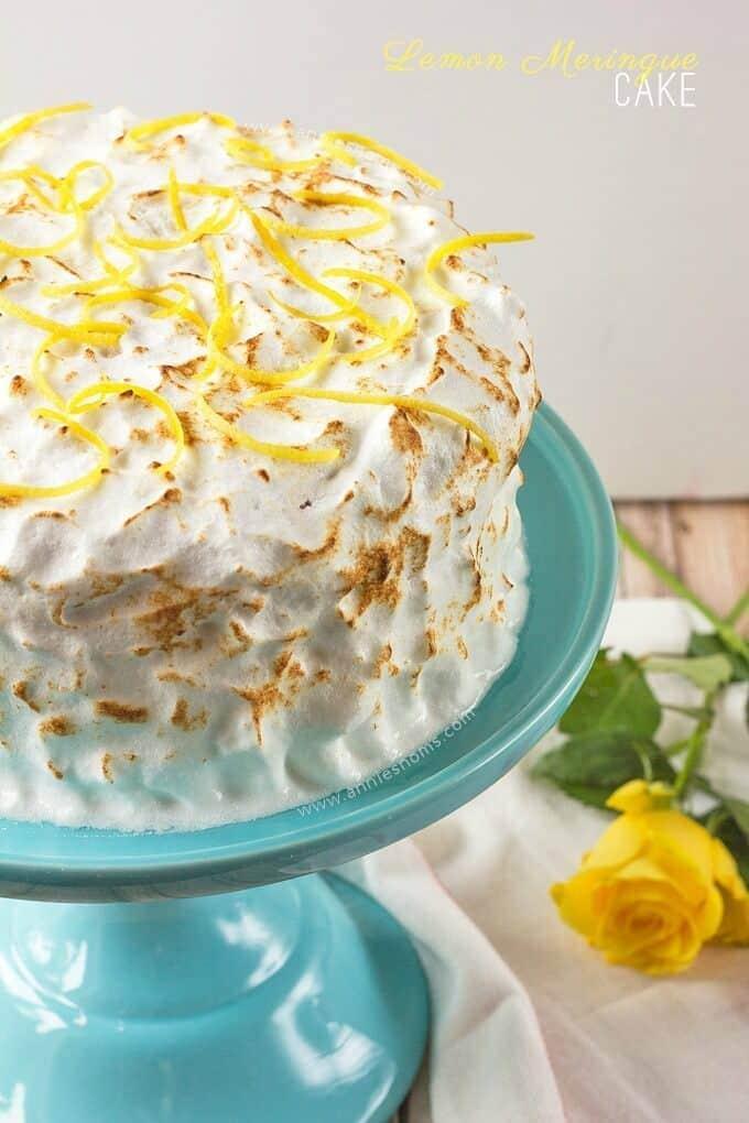 Lemon Meringue Cake - Annie's Noms