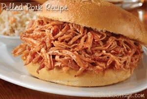 The Yummiest Pulled Pork Recipe by The Birch Cottage