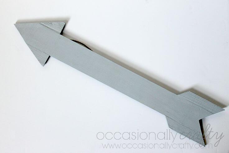 Rustic Wooden Arrow