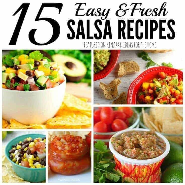 Fresh Salsa Recipes: 15 Easy Ideas for Your Next Party