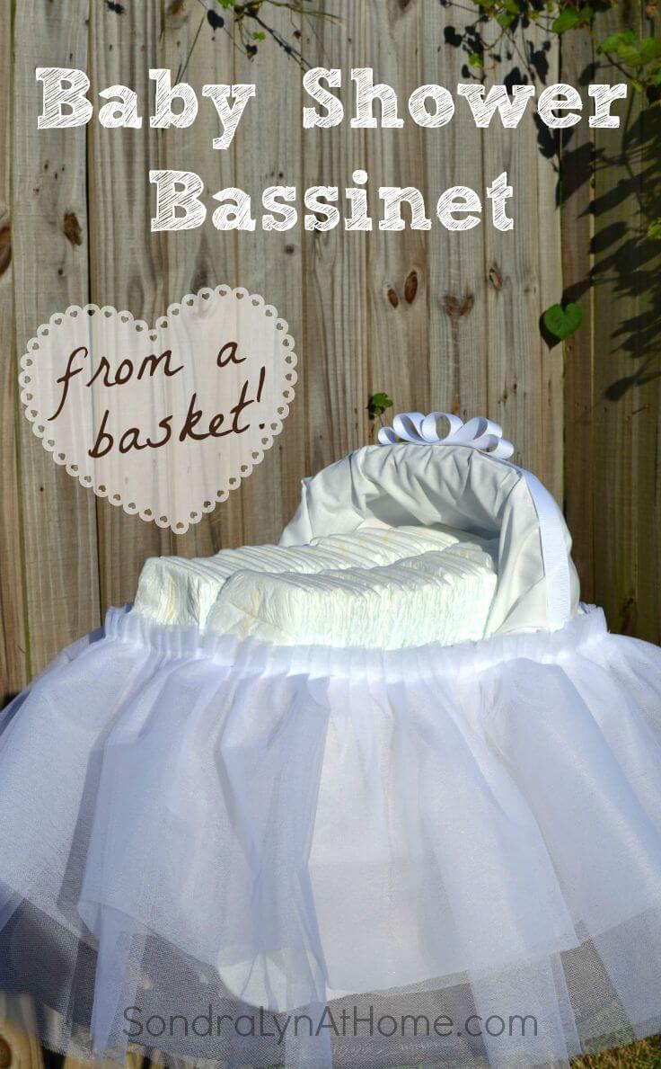 Baby Shower Bassinet - Sondra Lyn at Home.com