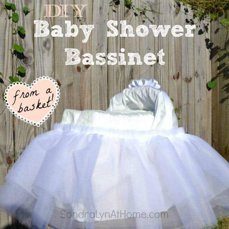 Baby Shower Bassinet ---- Sondra Lyn at Home.com