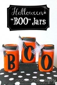 Halloween Boo Jars