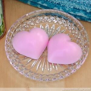 Peppermint Heart Soaps