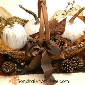 Rustic Glam Fall Tablescape 300x300 - Sondra Lyn at Home