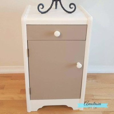 Give an outdated cabinet a beautiful makeover with this DIY furniture idea for your home.