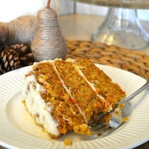 Best Ever Carrot Cake--- Sondra Lyn at Home