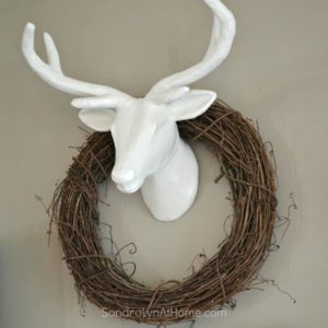 Paper Mache DIY DeerHead- Sondra Lyn at Home