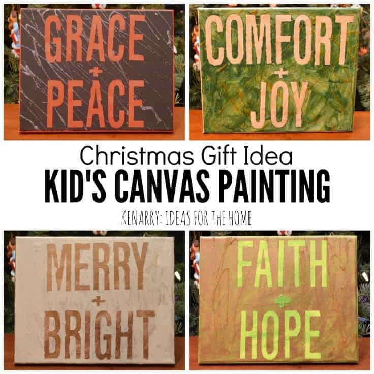 Kids Canvas Art Is An Easy Painting Activity And Makes A