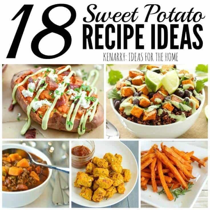 Sweet Potato Recipes: 18 Delicious Dinner Ideas
