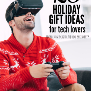 This is fantastic! Great holiday gift ideas for tech lovers including Christmas present suggestions for the cord cutter, the DIY-er, the adventurer, the music lover and some stocking stuff ideas too!