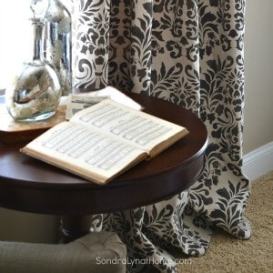 Drop Cloth Curtains by Sondra Lyn at Home- 300x300