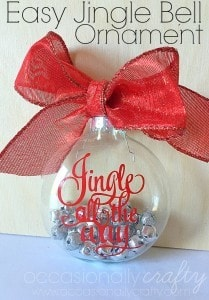 Easy Jingle Bell Ornament