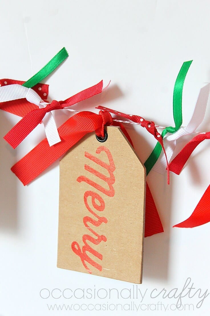 Gift Tag Banner 2