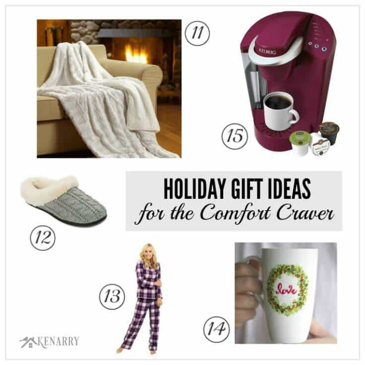 Tons of great holiday gift ideas for the women in your life including those who love crave comfort and enjoy the warmth of a cozy day at home. You're sure to find the perfect Christmas present from this holiday gift guide.