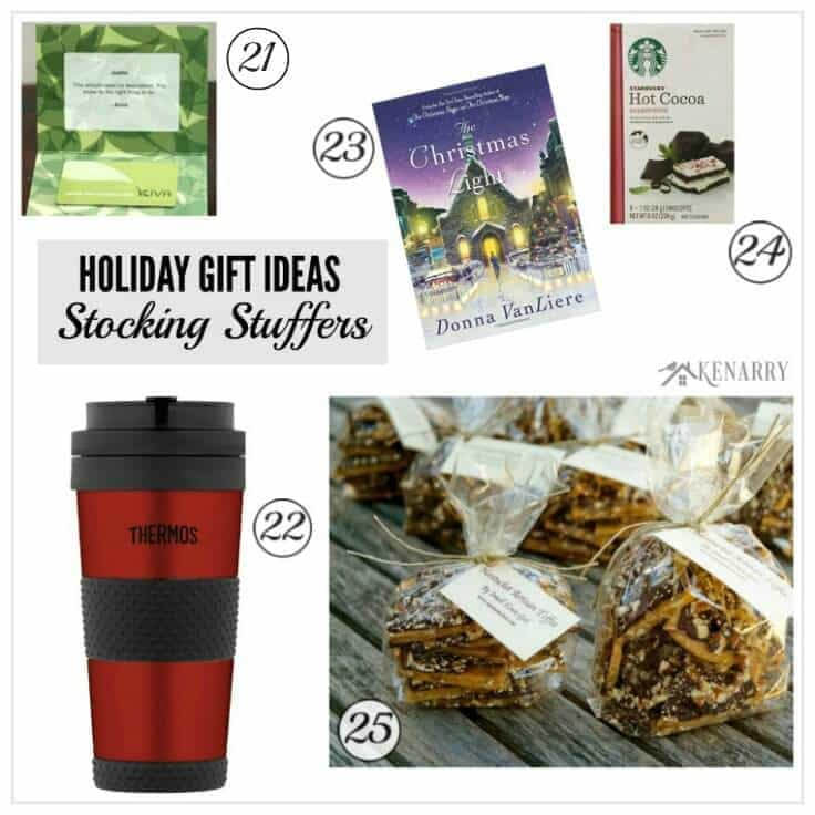Tons of great holiday gift ideas for the women in your life including stocking stuffer ideas. You're sure to find the perfect Christmas present from this holiday gift guide.