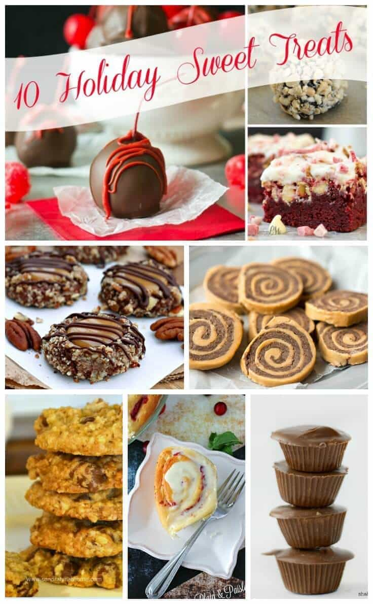10 Holiday Sweet Treats- Kenarry pinnable