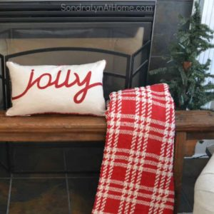 Family Room at Christmastime - All Through the House Tour - Sondra Lyn at Home