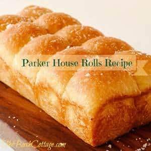 Parker House Rolls Recipe by The Birch Cottage