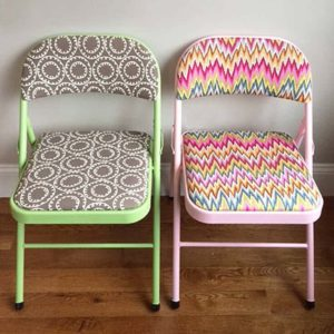 How to Refinish Folding Chairs