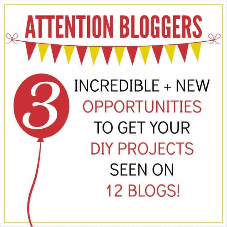 Share your brightest and best ideas for DIY projects, home improvement, crafts and home decor with 12 blogs through link parties and a new gallery.
