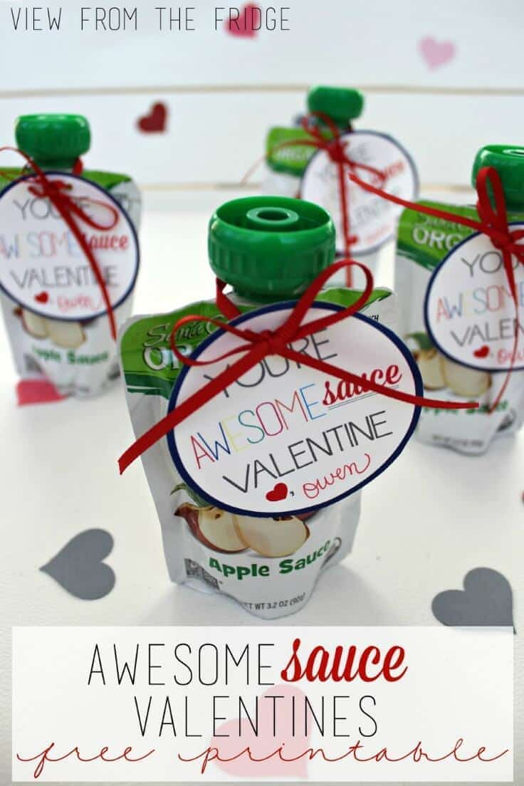 You're Awesomesauce, Valentine! - View From the Fridge featured on Kenarry.com