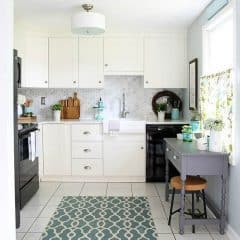 Our DIY White Kitchen Renovation-- The Reveal!
