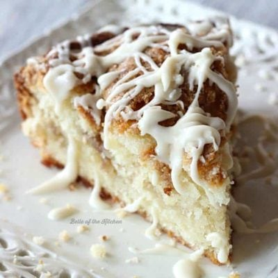 Greek Yogurt Coffee Cake