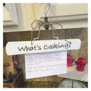 What's Cooking? Recipe Holder