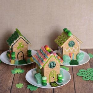 St Patrick's Day Leprechaun Houses