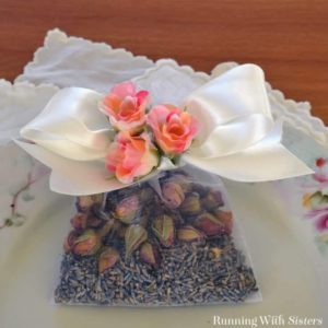 Make a lovely Lavender Rose Sachet. Great gift craft!