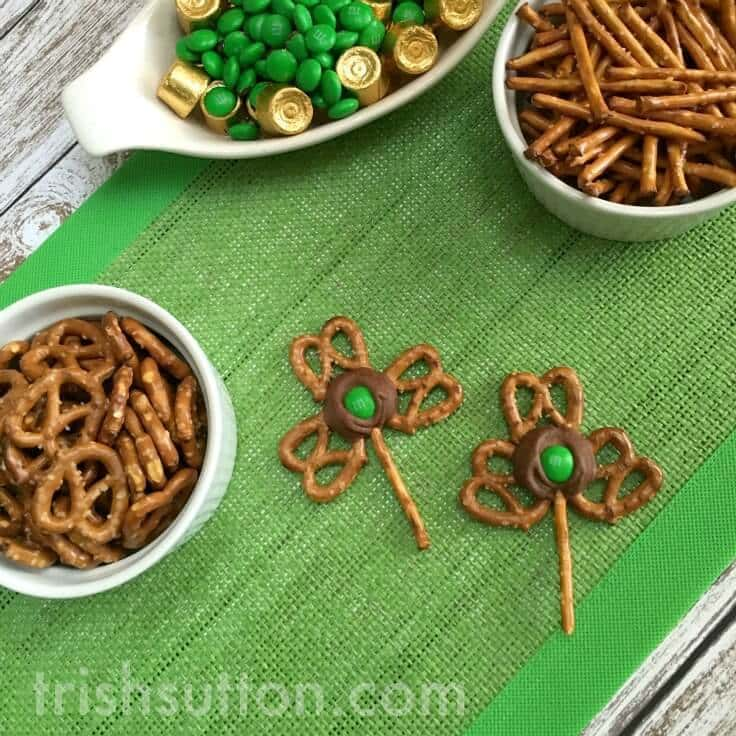 Pretzel Shamrocks: A Chocolate St. Patrick's Day Treat