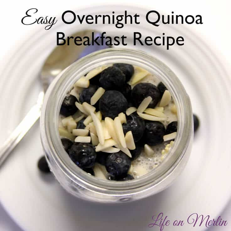 Easy Overnight Quinoa Breakfast Recipe