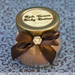 Rich Cocoa Body Butter is easy to make ans smells so good!