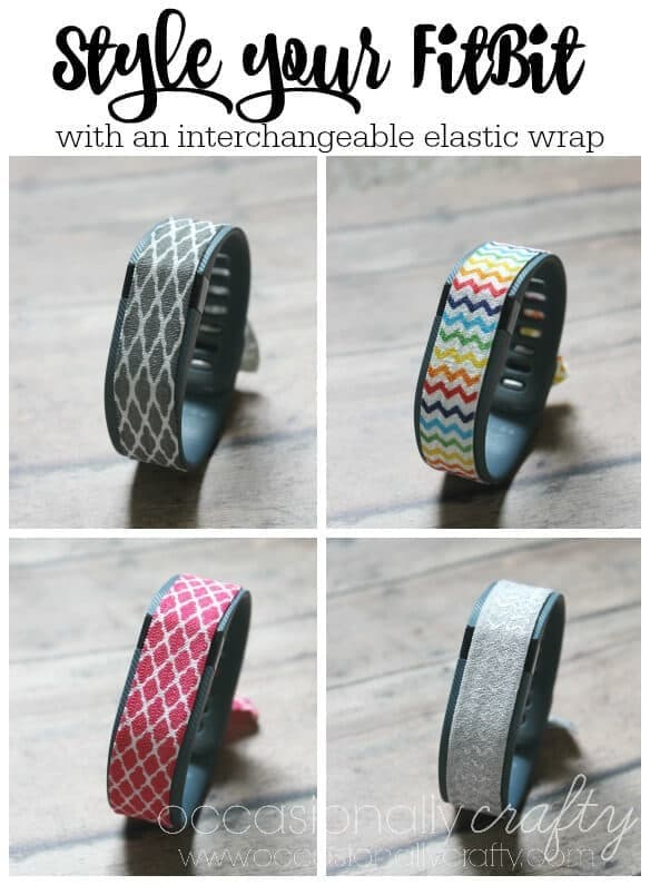 Style Your FitBit with An Interchangeable Elastic Wrap