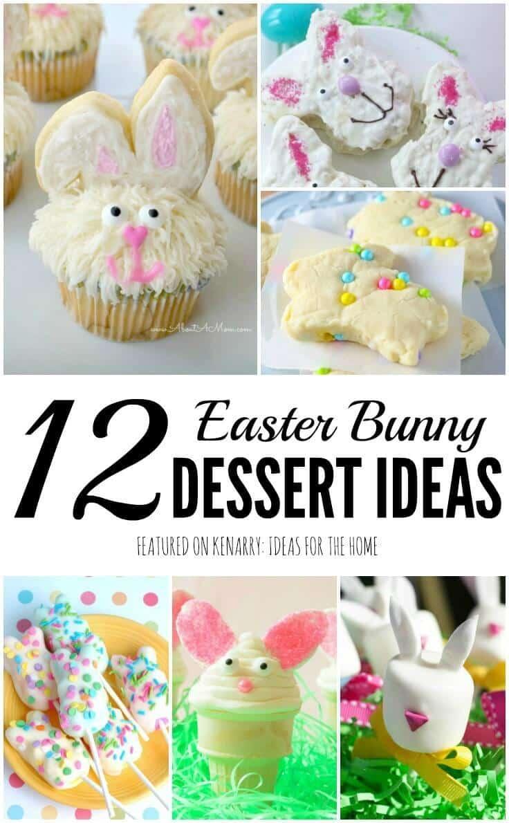 Easter Bunny Recipes: 12 Rabbit Shaped Treat Ideas