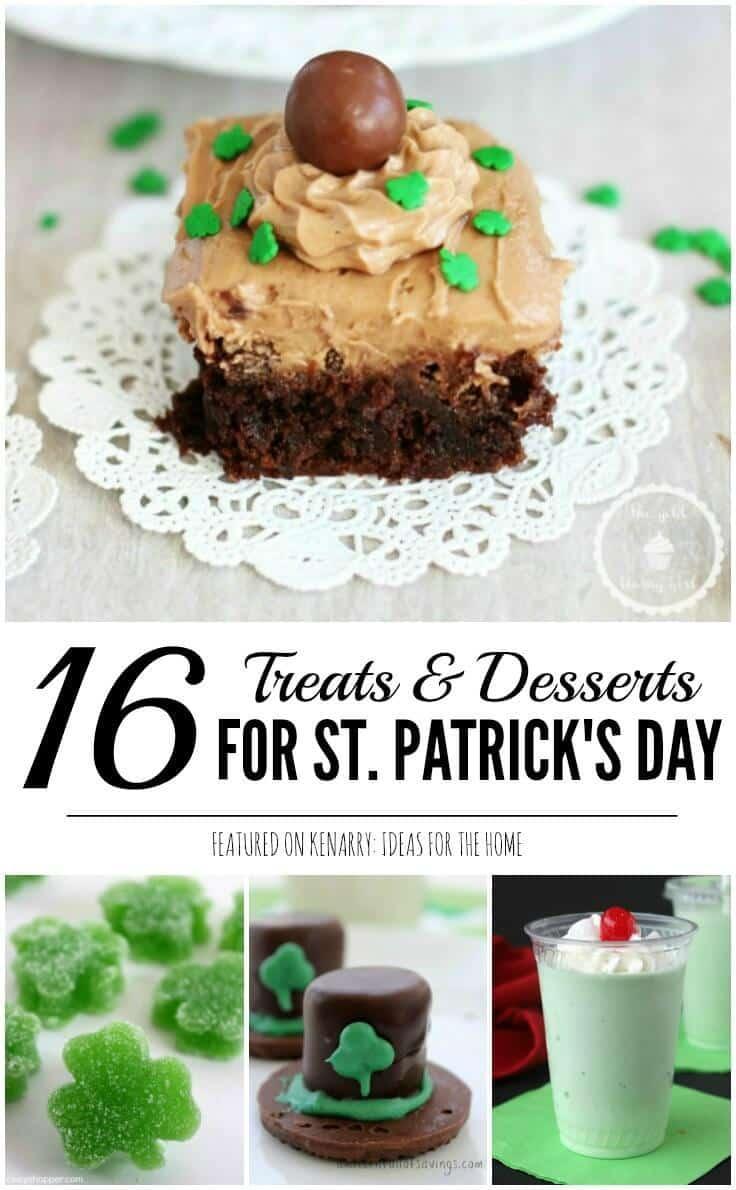 St Patricks Day Treats 16 Festive Party Ideas