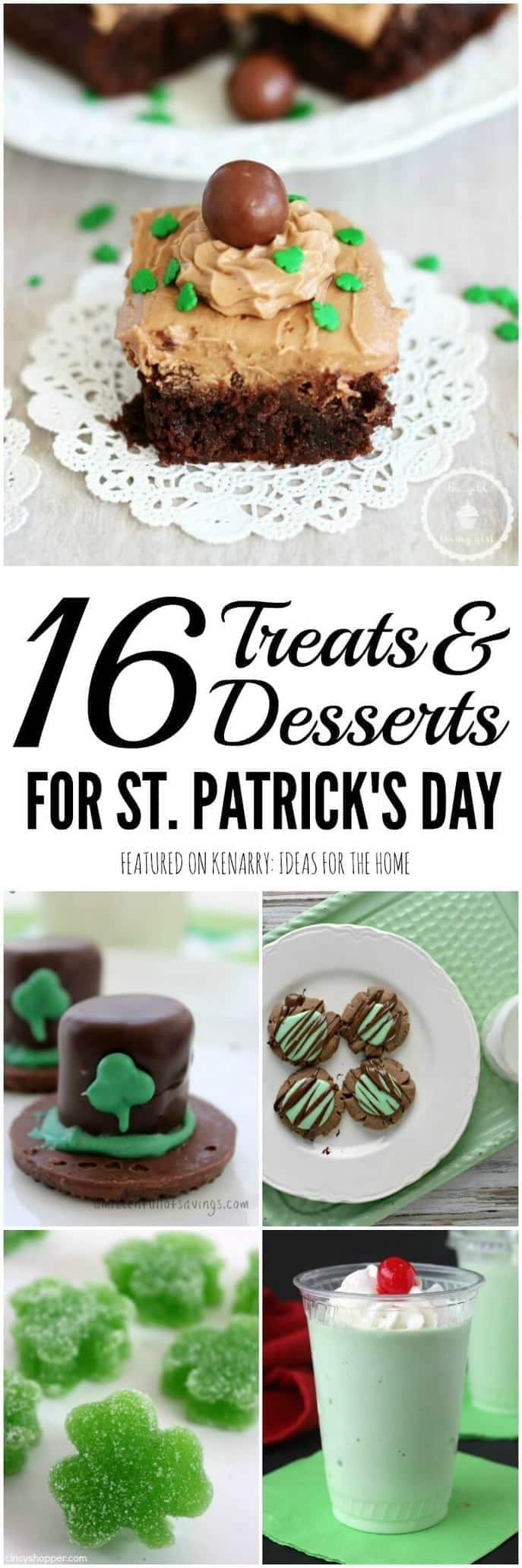 St. Patrick\'s Day Treats: 16 Festive Party Ideas