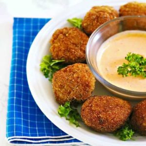 Easy Bite Size Crab Cake Appetizer