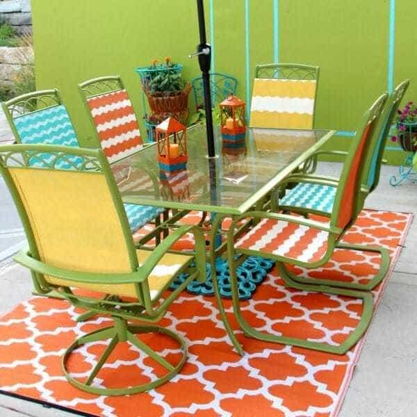 How to Update Your Tired Patio Furniture